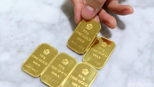 Harga Emas Antam Turun Rp 2000gram Riau Pembaruan Portal Berita